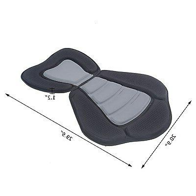 Deluxe Kayak Seat Sit On Top Back Canoe Detachable