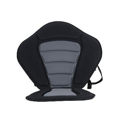 Deluxe Kayak On Top Padded Backrest Back Canoe Sports Back Detachable
