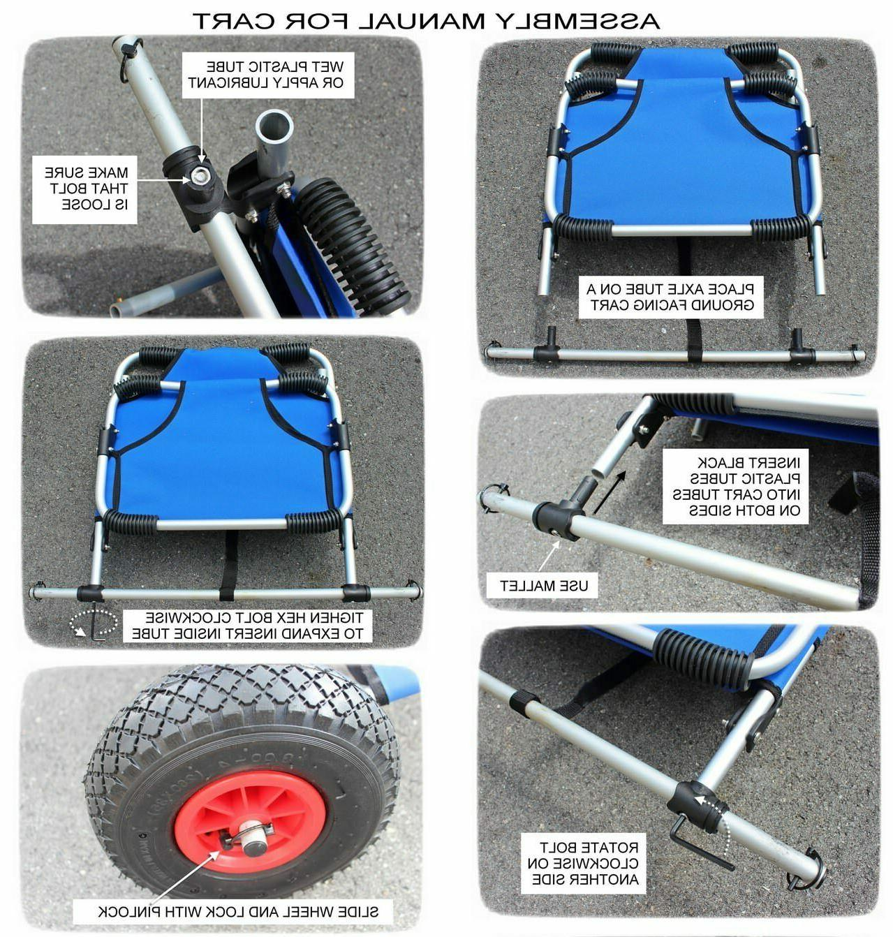 DELUXE PORTABLE EASY REMOVAL LOAD KAYAK & BE
