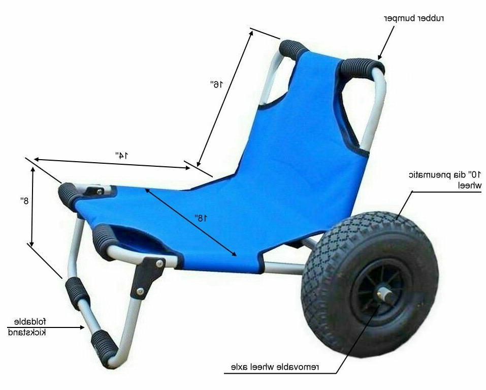 DELUXE CART EASY WHEELS LOAD SUP BE SEAT