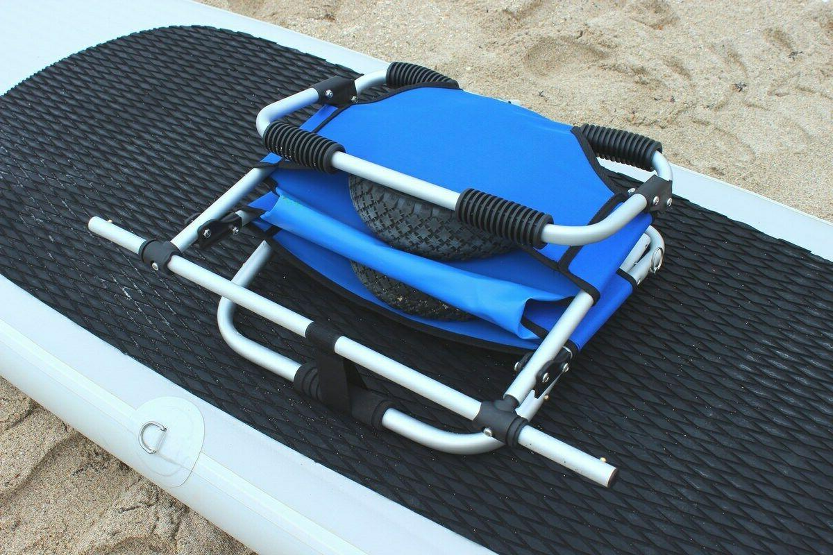 DELUXE PORTABLE CART W/ EASY BE BEACH SEAT