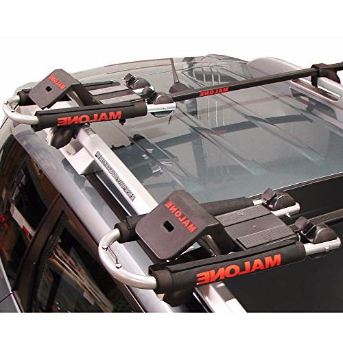Malone Downloader Folding Universal Car Rack Carrier with Stern Lines