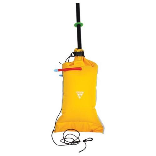 dual chamber paddle float ylw