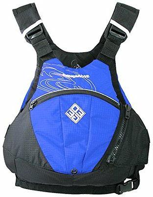 edge life jacket royal blue
