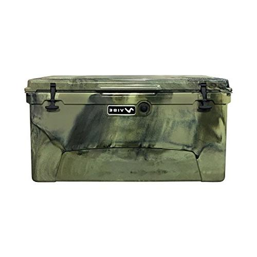 Vibe Element 110 Quart Rotomolded Hard Shell Cooler with Bot