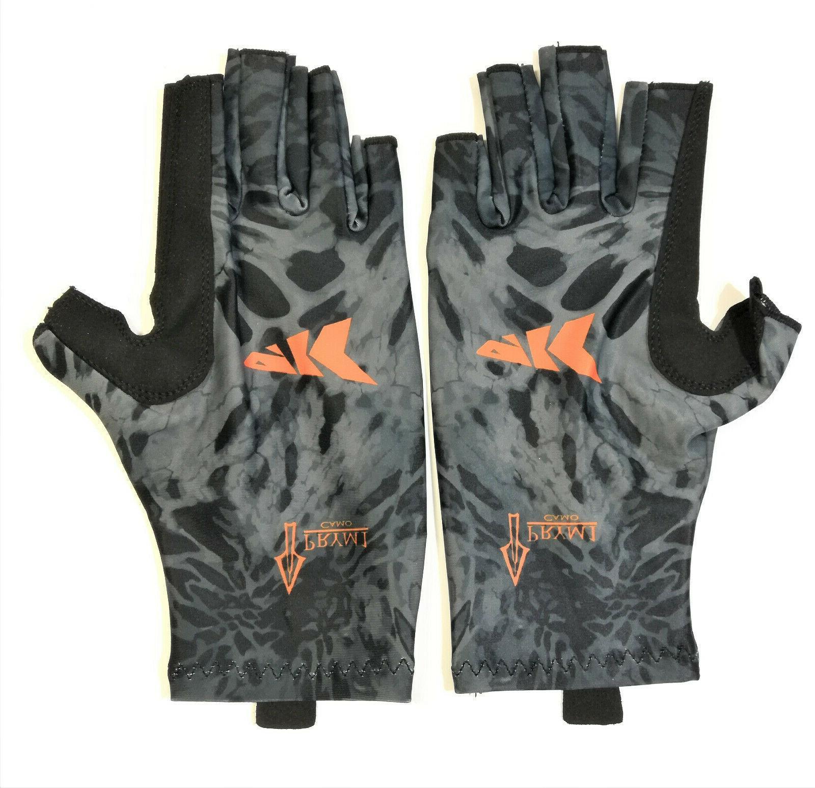 fishing gloves men women size s m