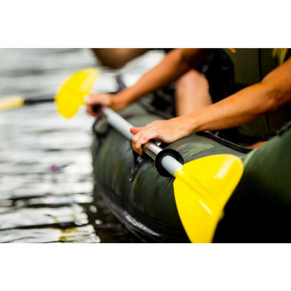 FISHING 2-Person Inflatable 18-Gauge PVC Holder