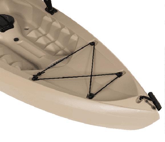 Fishing w/Paddle Ft Lifetime Tamarack Angler 100, Made