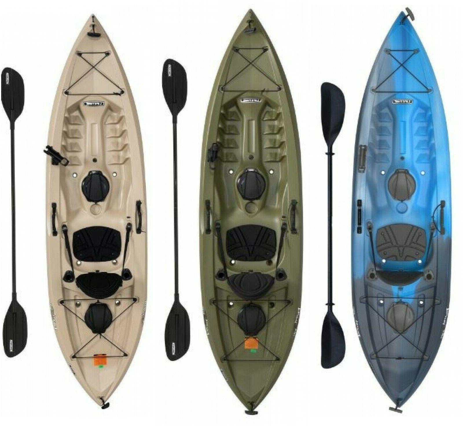 fishing kayak w paddle adult sit on