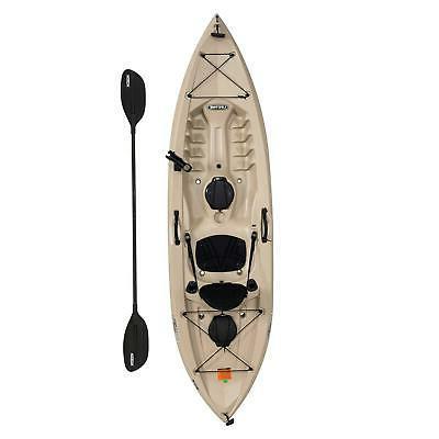 fishing kayak with paddle 10 ft tamarack