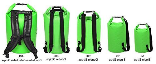Floating Waterproof 5L/10L/20L/30L/40L, Roll Dry Sack Marine Rafting Boating Skiing Snowboarding
