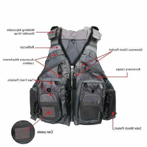 Fly Fishing Safety Life Breathable