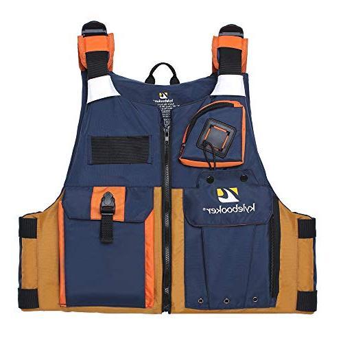 Kylebooker New Outdoor Fishing Life Jacket Men Safety Vest