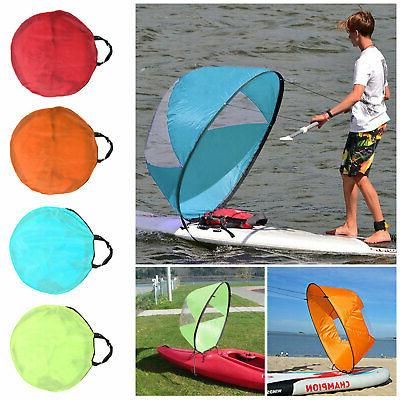 foldable kayak boat wind sail sup paddle