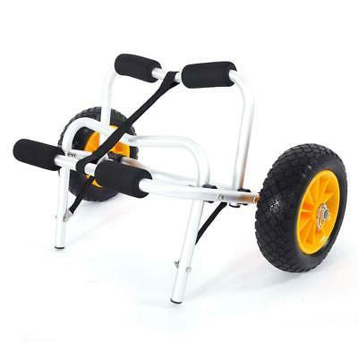 Deluxe Boat Kayak Canoe Carrier Dolly Trailer Tote Trolley T