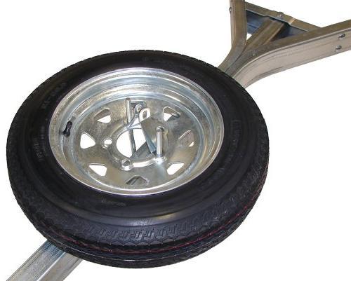 galvanized trailer spare tire