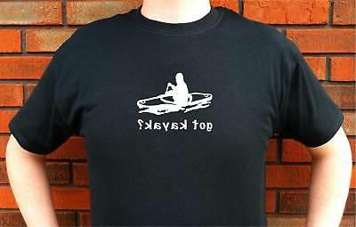 got kayak kayaking graphic t shirt tee