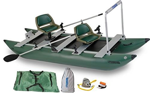 green 375fc inflatable foldcat fishing