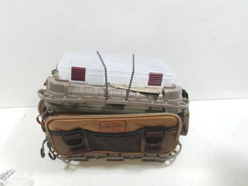 Plano Guide Series 3600 size bag - includes six 3650's Tan/B