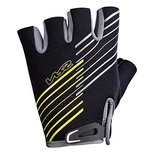 half finger guide gloves black