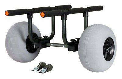 heavy duty kayak cart with beach tires