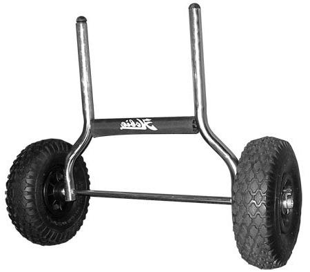 heavy duty plug kayak cart