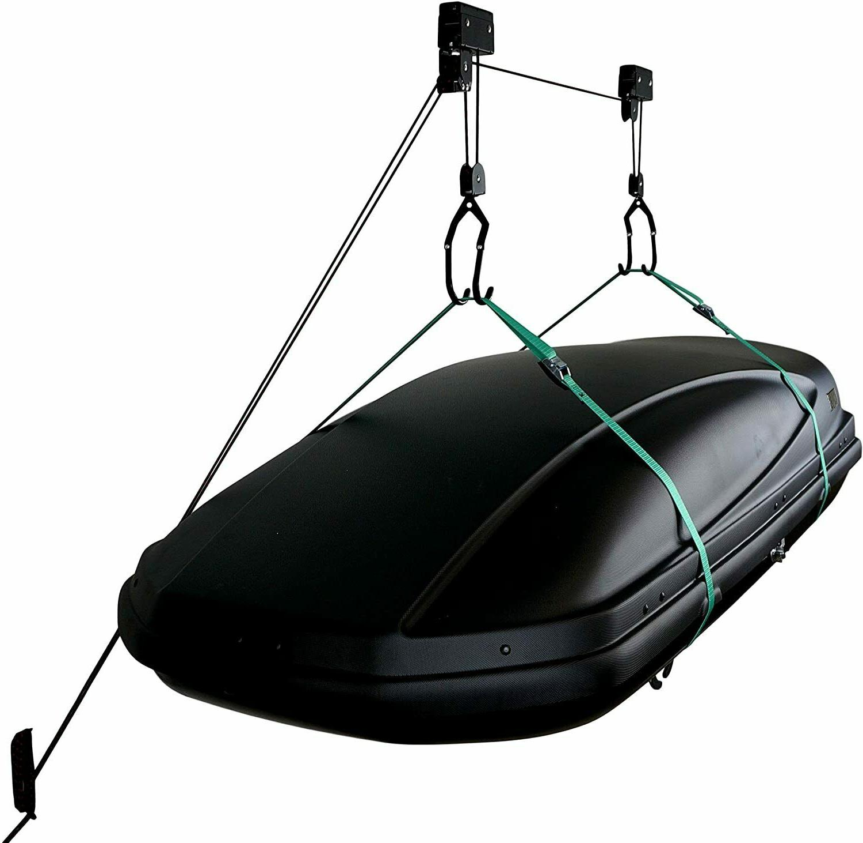 hi lift ceiling storage hoist for kayaks