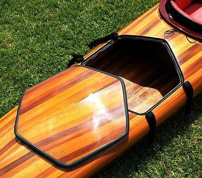 Hudson Surf Kayak Wood Built 18' Surfing New