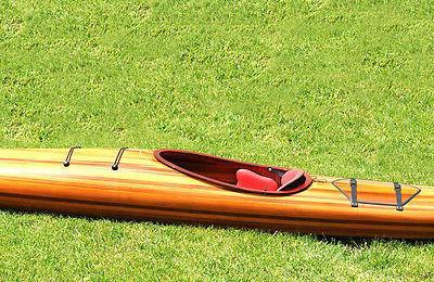 Hudson Kayak Wood Built 18' Surfing New