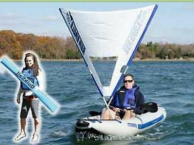 Sea Inc. - QuikSail A Sail for - Warranty!
