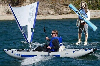 inc quiksail a quick sail for kayak