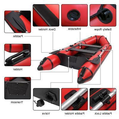 10' Lake Inflatable Air Dinghy Tender Raft