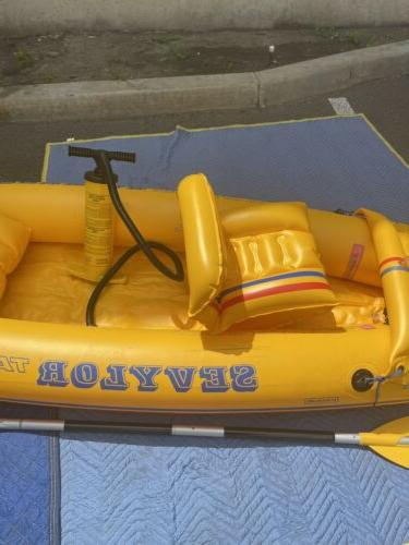 sevylor kayak Paddle And Pump