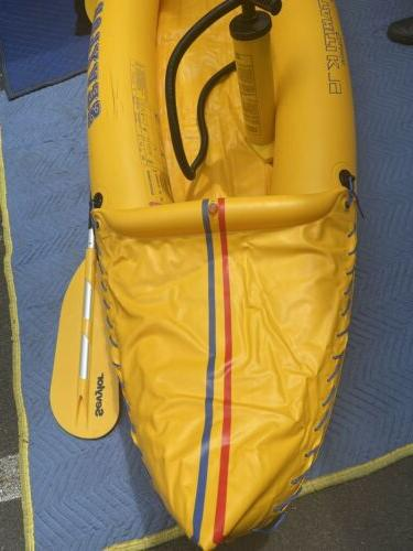 sevylor inflatable classic kayak With Paddle Pump