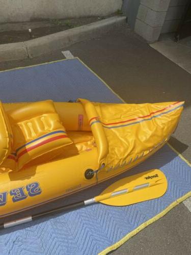 sevylor inflatable tahiti classic kayak And Pump