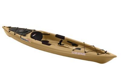 SUNDOLPHIN Journey Sit-on-top Fishing Kayak Sand, 12-Feet