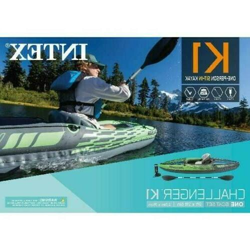 Intex Inflatable Paddle boat Pump