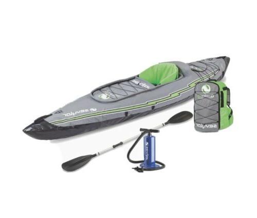 k5 quikpak inflatable 1 person kayak max