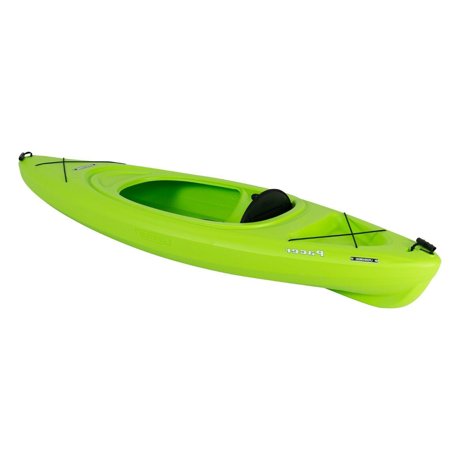 Kayak 8ft Boat Paddle Green adjustable seat