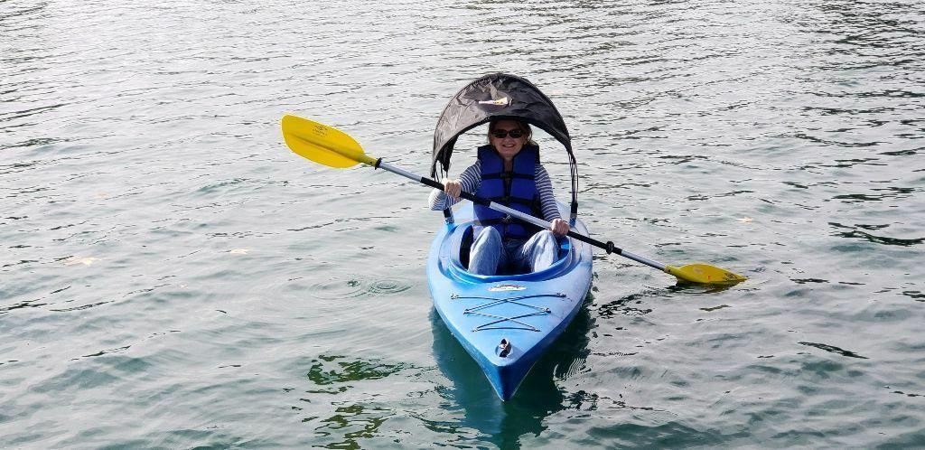 Kayak Bimini Adjustable