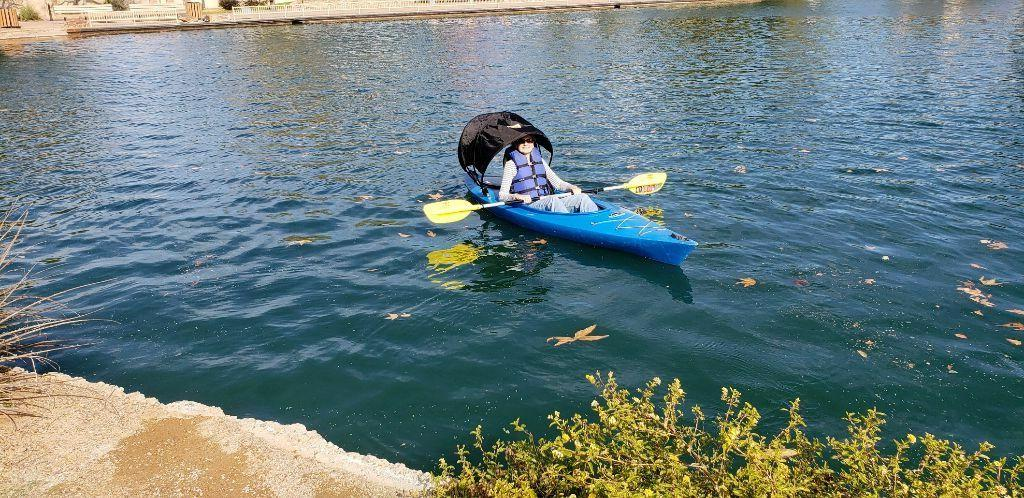 Kayak Top Kybrella Adjustable Shade