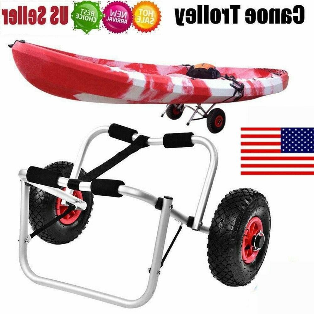 kayak canoe boat carrier 80kg dolly trailer