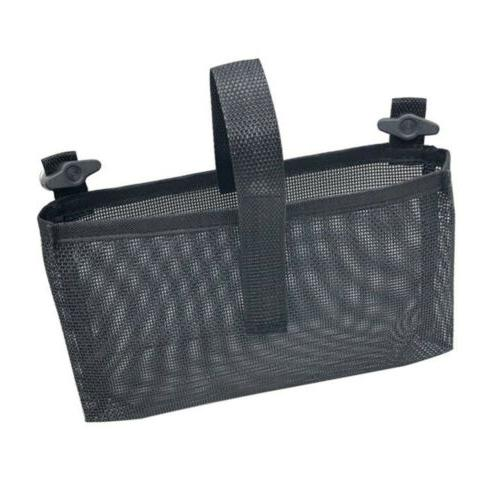 Easy-draining Mesh Storage Sleeve Tackle Box Holder Bag for