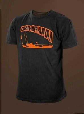 kayak fishing angler fishing t shirt