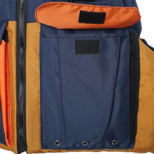 Kayak Fishing USCG PFD Fit Universal Oversize Fishing Vest