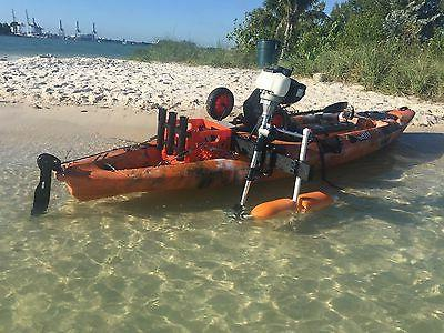 Kayak Outboard for Use with Small Vertical