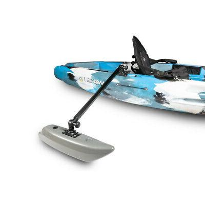 kayak outriggers stabilizers paddle more confidently or