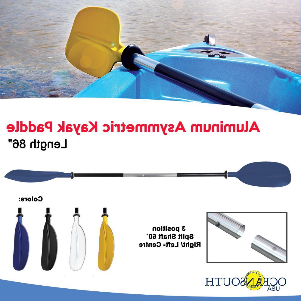 kayak paddles blue