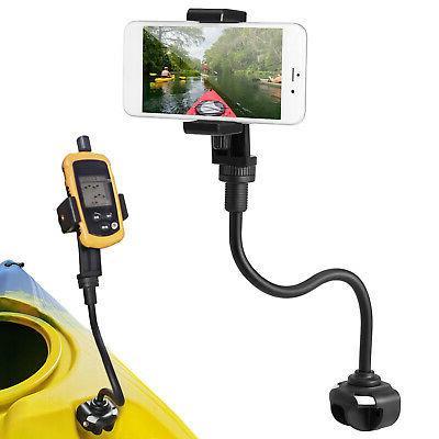 360 degree adjust kayak phone mount boat