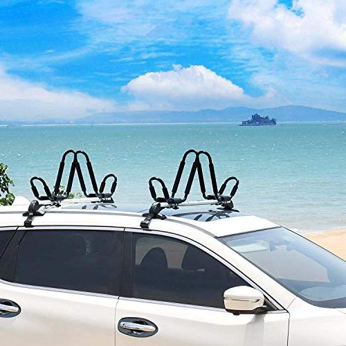 Leader Kayak Rack For SUP Mount With 4 pcs Rachet Straps